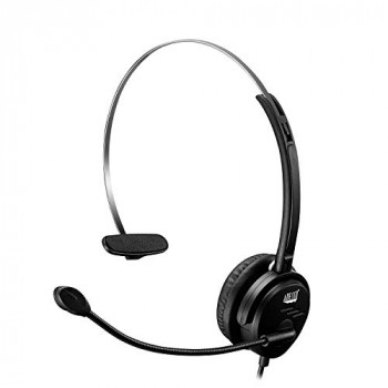 Single-Sided USB Wired Headset with Built-in Microphone