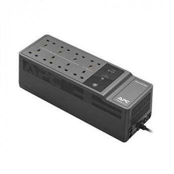 APC BACK-UPS ES - BE850G2-UK - Uninterruptible Power Supply 850VA (8 Outlets, Surge Protected, 2 USB Charging Ports)