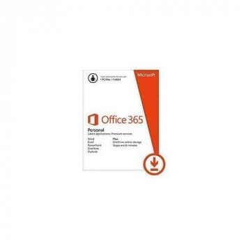 Microsoft Office 365 Personal 32/64-bit - Subscription Licence - 1 Tablet, 1 PC/Mac