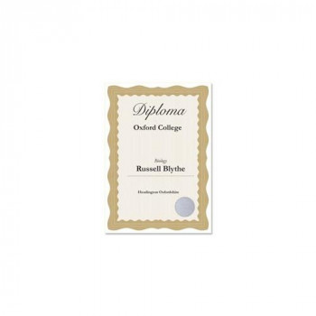 Computer Craft 755692 Certificate Papers with Foil Seals 90gsm A4 Bronze Wave Ref CCC2030 Pack of 30