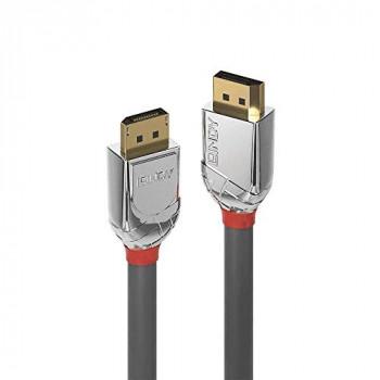 LINDY 1m DisplayPort 1.4 Cable, Cromo Line