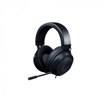 Razer Kraken, Gaming Headset with Cooling Gel Ear pads for Ambitious Gamers, Black