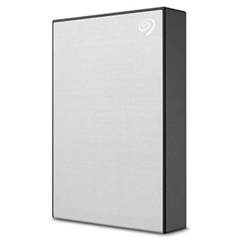 Seagate 4TB Backup Plus Portable High-Capacity External Hard Drive + 1yr MylioCreate + 2mo Adobe CC Photography, Silver (STHP4000401)