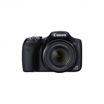 Canon SX530 HS PowerShot Point and Shoot Digital Camera (16 MP, 50x Zoom, Wi-Fi, 3 inch LCD) - Black
