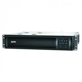 APC Smart-UPS SMT-SmartConnect - SMT1000RMI2UC - Uninterruptible Power Supply 1000VA (Rackmount 2U, Cloud enabled, 4 Outlets IEC-C13) Black