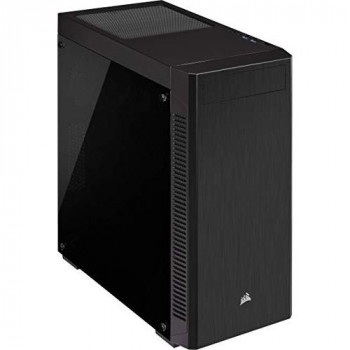 Corsair 110R, Tempered Glass Mid-Tower ATX Gaming Case, Black