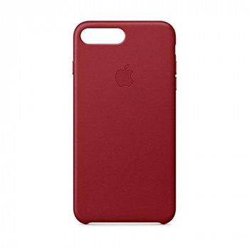 Apple Leather Case for iPhone 8 Plus/7 Plus - Red