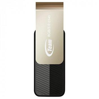 Team Color Series C143 8GB USB 3.0 Black USB Flash Drive