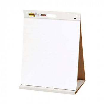 3M Post-it Table Top Meeting Chart, 20 Self-Adhesive Sheets 508 x 584 mm - White