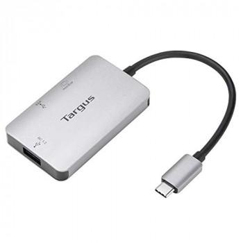 Targus USB-C Multi-Port Hub, Gray (ACA948EU)