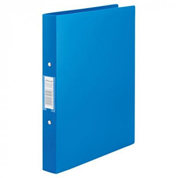 Rexel 13422BU 25 mm A4 Polyprop 2-OR Budget Ring Binder - Blue (Pack of 10)