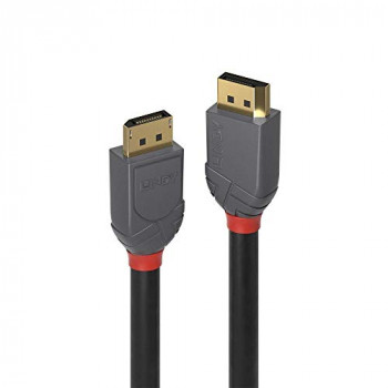 LINDY 15m DisplayPort 1.2 Cable, Gold Line