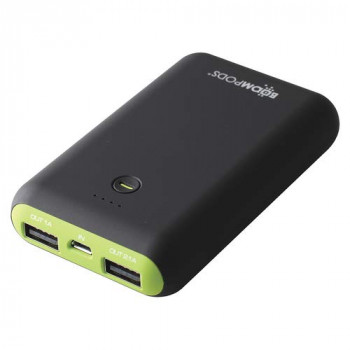 BOOMPODS Pocket size power Bank, 7500mAh Powerful Battery, Power Indicator