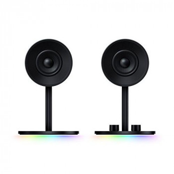 Razer 2.0 Gaming Speakers Custom Woven Glass Fibre 3-inch Drivers - Nommo Chroma