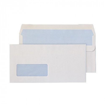 Wallet White SS Win DL 90gsm PK50