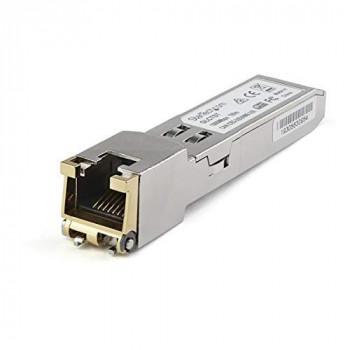 StarTech.com Juniper SFP-1GE-T Compatible SFP Module - 1000Base-T Fiber Optical Transceiver (SFP1GETST)