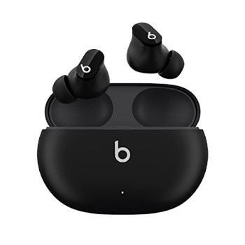 Beats Studio Buds – True Wireless Noise Cancelling Earbuds – IPX4 rating, Sweat Resistant Earphones, Compatible with Apple & Android, Class 1 Bluetooth, Built-in Microphone – Black