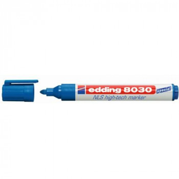 Edding 4-8030003 8030 NLS High Tech Marker Pen - Blue