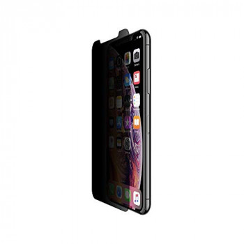 Belkin ScreenForce InvisiGlass Ultra Privacy Screen Protection for iPhone XS/X (iPhone Privacy Screen Protector for iPhone XS and iPhone X)
