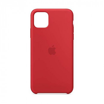 Apple Silicone Case (for iPhone 11 Pro Max) - (PRODUCT)RED