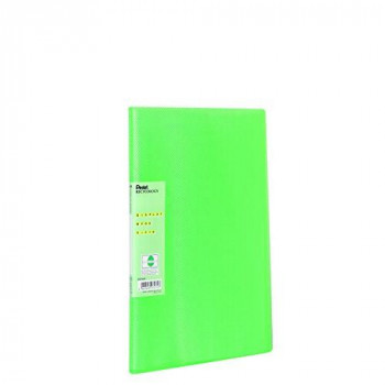 Pentel Recycology Display Book with 30 Vivid Pocket - Green