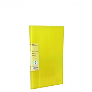 Pentel Vivid 30 Pocket Recycology Display Book - Yellow