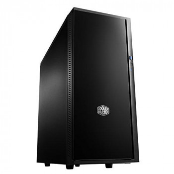 Cooler Master SIL-452-KKN1 Silencio 452 USB 3.0 Solid Side Panel ATX/MicroATX Computer Case - Black