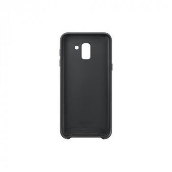 Samsung Original EF-PJ600CBEGWW J6 Case Dual Layer Cover - Black