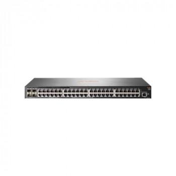 Aruba 2930F 48G 4SFP+ - Switch - L3 - Managed - 48 x 10/100/1000 + 4 x 1 Gigabit / 10 Gigabit SFP+ (uplink) - rack-mountable