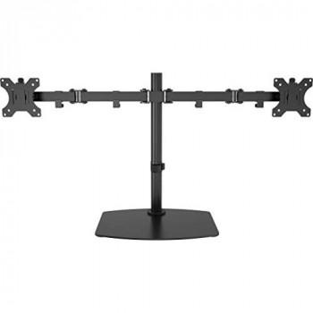 Vision VFM-DSDB Multimedia Stand Black Flat Panel – Stand for Multimedia Stand, Black, Steel, Flat Panel, 16 kg, 33 cm (13 inches)