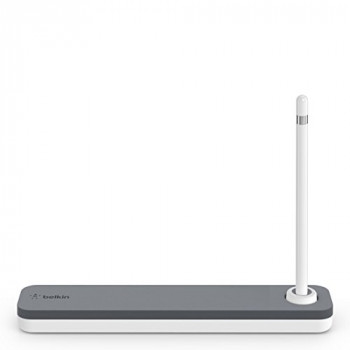 Belkin Case Plus Stand for Apple Pencil - White/Grey