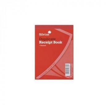 Silvine 230 - Duplicate Receipt Book 105x148mm Gummed Pk12 230