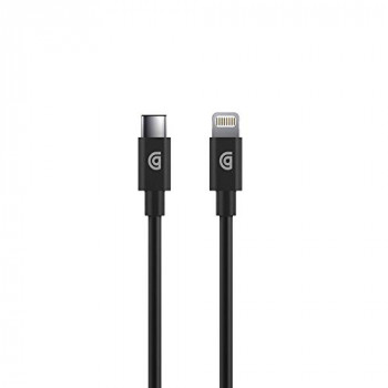 Griffin MFI Charge/Sync Cable Apple Lightning to USB-C Compatible with e.g. iPhone 11/11 Pro/SE (2020) / 12 mini / 12/12 Pro / 12 Pro Max [1.2 m Long I Fast Charging I Charging & Syncing]