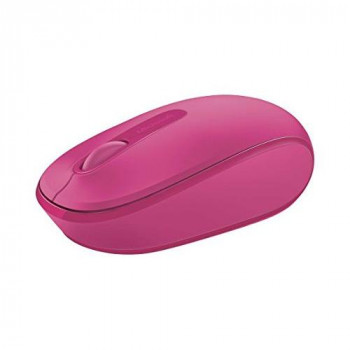 Microsoft 1850 3 Button Wireless Mobile Mouse - Magenta/Pink