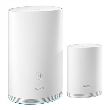 HUAWEI WiFi Q2 Pro (1 Base + 1 Satellites) , Whole Home Wi-Fi Mesh System, Gigabit Powerline Communication, Plug and Play, Seamless Roaming, Wi-Fi Everywhere