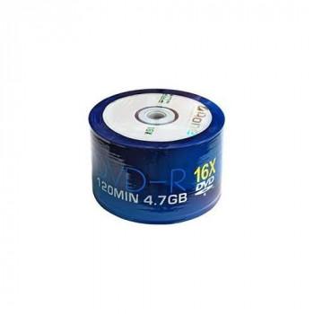 50pcs Cello Wrapped, Aone AONE-16X-logo-50S, 4.7GB DVD-R 16x, Single Layer logo, 120min