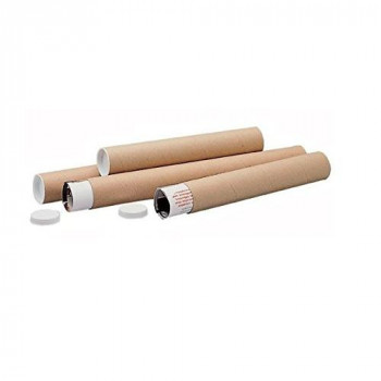 LSM 220418 970 x 100 mm Postal Tube - Brown (Pack of 5)