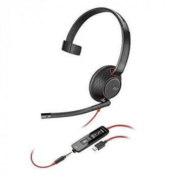 Plantronics Blackwire C5210 Mono USB-C PC Headset