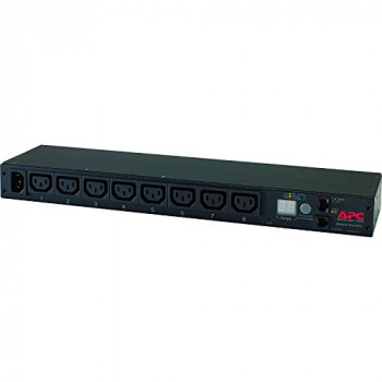 APC Rack PDU - AP7820B - Power Distribution (Metered, 1 U, 12 A / 208 V, 10 A / 230 V, 8 Outlets C13)