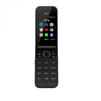 Nokia 2720 2.8-inch 4G UK SIM-Free Feature Phone with Google Assistant (Single-SIM) - Black