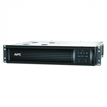 APC Smart-UPS SMT-SmartConnect - SMT1500RMI2UC - Uninterruptible Power Supply 1500VA (Rackmount 2U, Cloud enabled, 4 Outlets IEC-C13) Black