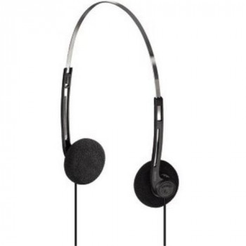 "Hama HK-5644 - headphones (Black, Silver, Supraaural, 3.5 mm (1/8""), 20 - 20000 Hz, Head-band, Closed)"