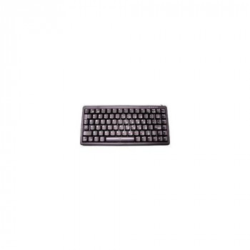 Cherry USB/PS2 Compact Keyboard - Black