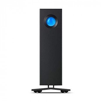 LaCie d2 Professional 8 TB External Hard Drive Portable Desktop HDD – USB-C USB 3.0, 7200 RPM Enterprise Class Drives, for Mac and PC Desktop, 1 Month Adobe CC (STHA8000800)
