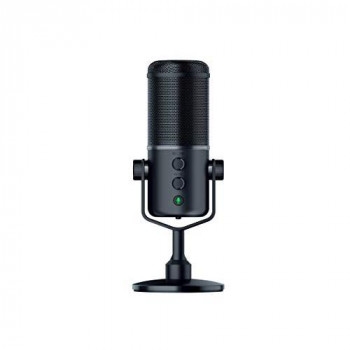 Razer Seiren Elite Studio-Grade Multi-Pattern USB Digital Microphone and Headphone Amplifier