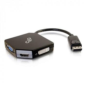 C2G DisplayPort to HDMI/DVI/VGA Adapter