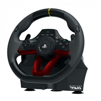 HORI Wireless Racing Wheel Apex - Steering Wheel with pedals - PS4 - PS3 - PC