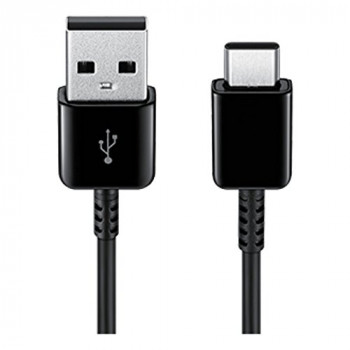 Samsung Original USB Type C Charge and Sync Cable – Genuine Samsung USB-A to USB-C Charging Cable for Fast Charging of Mobile Phones and Tablets – 1.5 m - Black