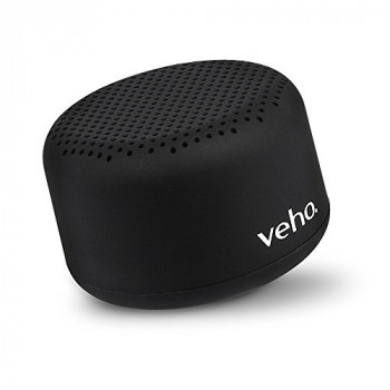Veho M-2 Bluetooth Speaker Stereo Speakers Portable Wireless Travel Speaker TWS Twin Pairing Mode 3.5mm Wired Connectivity - Black (VSS-201-M2)
