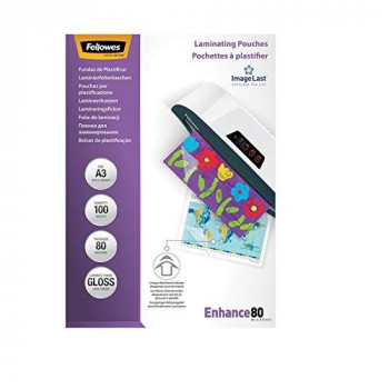 Fellowes  ImageLast A3 80 Micron Laminating Pouches - Pack of 100
